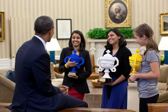President Obama Congratulates Google Science Fair Winners