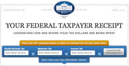tax receipt