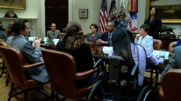 President Obama Engages with Youth with Disabilities