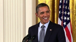 President Obama Honors the Country's Top Innovators and Scientists