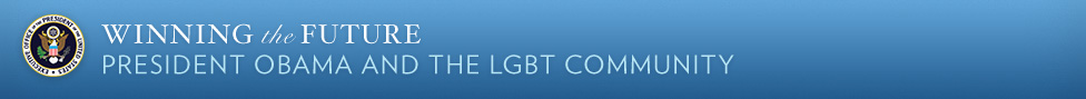 President Obama and the LGBT Community