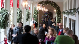 Behind-the-Scenes Look: Time-Lapse of Holidays at the White House