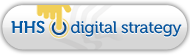 HHS Digital Strategy badge