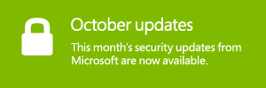 Help protect your PC with the latest Microsoft security updates.