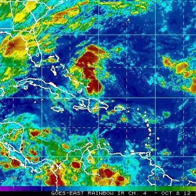 Photo: NHC is currently monitoring two areas of disturbed weather. One is a trough of low pressure extending from the southeastern Bahamas into the southwest Atlantic. Upper-level winds are expected to becoming less conducive for development, so it has a low chance - 10 percent - of becoming a tropical cyclone during the next 48 hours while moving toward the northwest.  The second area is a tropical wave and broad area of low pressure located about 1600 miles east-southeast of the Lesser Antilles. Development - if any - will be slow to occur as it moves towards the west or west-northwest. It also has a low chance - 10 percent - of developing into a tropical cyclone during the next 48 hours. Get the latest on the tropics anytime by visiting the NOAA NHC website at www.hurricanes.gov