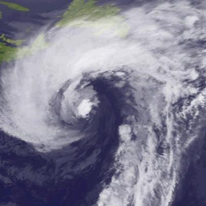 """Photo: NHC has issued its last advisory on """"Rafael"""" over the North Atlantic as the system has lost its tropical characteristics. In this photo, it is centered about 475 miles southeast of Nova Scotia. Maximum sustained winds are 75 mph. Although weakening is expected, it will remain a powerful extratropical low over the North Atlantic for several more days. NHC has also issued its last advisory on """"Paul"""" over the eastern North Pacific, as the system is now a remnant low off the west coast of the Baja California Peninsula. Get the latest on the tropics anytime by visiting the NOAA NHC website at www.hurricanes.gov"""