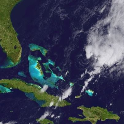 Photo: Tropical Storm Patty is located about 275 miles east-northeast of the central Bahamas at midday. Maximum sustained winds are 40 mph. Slow weakening is forecast during the next 48 hours, and Patty could become a remnant low before Sunday - the result of a combination of strong wind shear and drier and more stable air being pulled into it.  Patty is not expected to move much today, with a southwest motion forecast on Saturday. A USAF Hurricane Hunter plane will investigate the system shortly to provide more detailed data on the storm. Get the latest information, including graphics, on the NOAA NHC website at www.hurricanes.gov