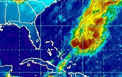 Photo: Tropical Storm Patty is weakening, centered this morning about 230 miles east-northeast of the central Bahamas. Maximum sustained winds are 40 mph. Further weakening is likely, and Patty could become a remnant low by Saturday. A slow southwest to south-southwest movement is forecast for today, with a little increase in the forward speed on Sunday. Get the latest on this storm, including graphics, on the NOAA NHC website at www.hurricanes.gov