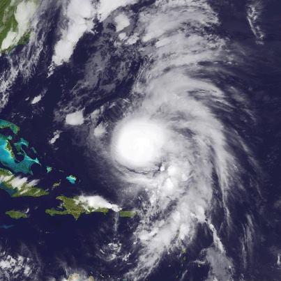 """Photo: NHC has upgraded """"Rafael"""" to a hurricane tonight.  Reports from both a NOAA and USAF Hurricane Hunter aircraft indicate maximum sustained winds have reached 85 mph - a Category One hurricane on the Saffir-Simpson Hurricane Wind Scale. Little change in strength is expected tonight and Tuesday. The hurricane is centered about 545 miles south of Bermuda, moving toward the north. A turn toward the northeast is expected Tuesday. A Tropical Storm Warning continues for Bermuda.  Get the latest on this hurricane, including graphics, on the NOAA NHC website at www.hurricanes.gov"""