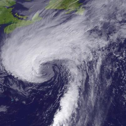 Photo: Hurricane Rafael is moving over the North Atlantic Ocean, centered at midday about 545 miles south-southeast of Halifax, Nova Scotia. Maximum sustained winds are 75 mph, a Category One hurricane on the Saffir-Simpson Hurricane Wind Scale. Rafael is forecast to lose its tropical characteristics later today. However, it will remain a powerful extratropical low over the North Atlantic for several days. Rafael is moving toward the north-northeast at 35 mph, and a turn toward the northeast at a faster forward speed is expected later today. Get the latest on Rafael, including graphics, on NOAA NHC website at www.hurricanes.gov