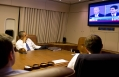 President Obama Watches the VP Debate