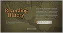 Recording History Interactive