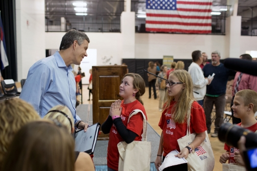 Secretary Duncan with Students at Constitution Day