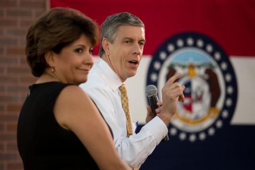 Secretary Duncan with Janet Murguia