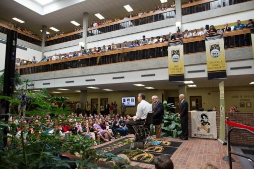 Secretary Duncan Speaks to Education Students