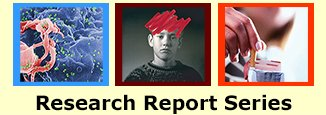 Images of cover art of the three research reports