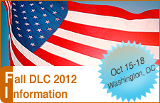 Fall 2012 DLC Meeting and FDL Conference Information.