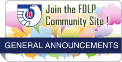 Join the FDLP Community Site.