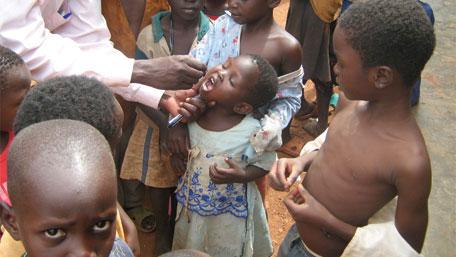 CDC highlights polio eradication work around the globe.