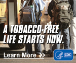 A tobacco-free life starts now. Learn more