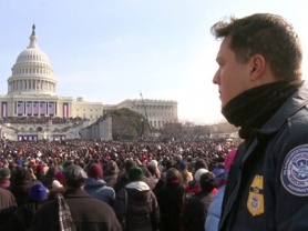 TSA official watches over President Obama's inauguration