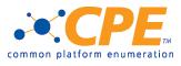 CPE - common platform enumeration