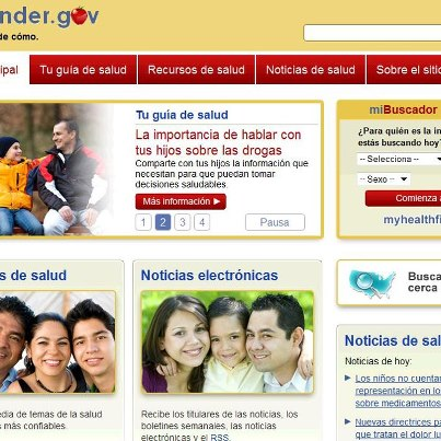 Photo: healthfinder.gov's wellness and prevention info is also available in Spanish! Check it out and be sure to share it with those you know who speak Spanish: http://1.usa.gov/SJNFgq  –Emily, healthfinder.gov
