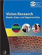 Photo: Interested in knowing more about the state of vision science and current research to advance progress in treating and curing visual disorders and blindness? Read the National Eye Institute's new strategic plan, Vision Research: Needs, Gaps, and Opportunities at www.nei.nih.gov/strategicplanning/pdf/VisionResearch2012.pdf