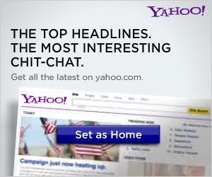 Set your homepage to Yahoo!