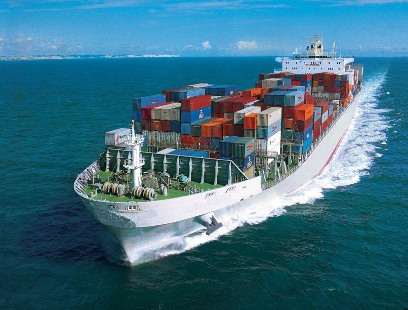 Image of a cargo ship