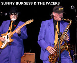 Image of Sunny Burgess and the Pacers