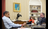 President Obama Is Updated On The Response To Hurricane Sandy