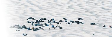 Higgins Lake Ice Fishing