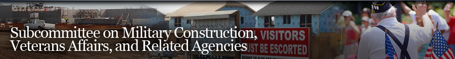 Military Construction, Veteran Affairs, and Related Agencies Banner