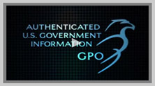 Video Image: GPO authenitication logo