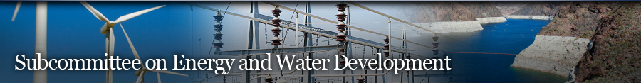 Energy and Water Development Banner