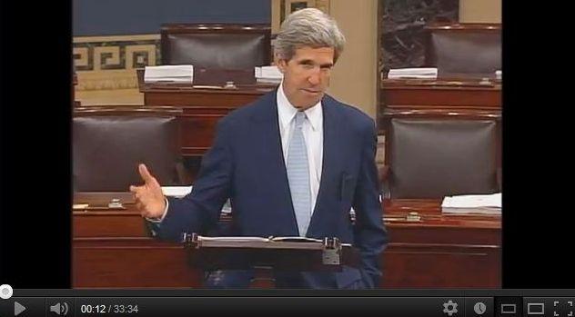 Kerry Talks Global Climate Change on Senate Floor