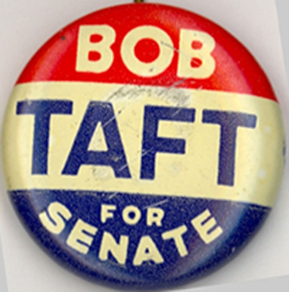 Bob Taft Button