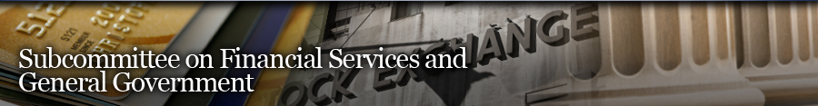 Financial Services and General Government Banner