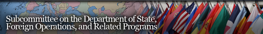 State, Foreign Operations, and Related Programs Banner
