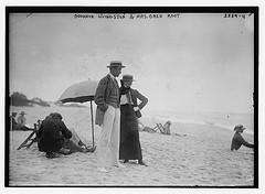 Goodhue Livingston & Mrs. Oren Root  (LOC)