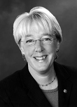 Senator Murray's Official Photo - Black and White