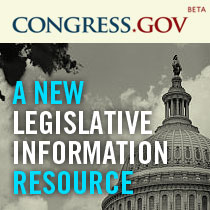 Congress.gov Beta A New Legislative Information Resource
