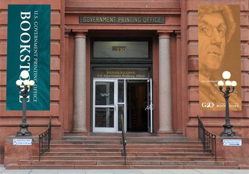 U.S. GOVERNMENT BOOKSTORE Entrance