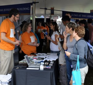 NDIIPP staff at the National Book Festival. By wlef70, on Flickr