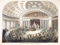 Interior View of the United States Senate, at Washington, D.C.