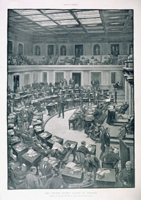 The United States Senate in Session.