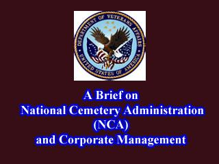 VA's NCA Briefing
