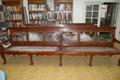 Senate Reception Room Bench During Restoration