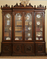Image: Bookcase, Library (Cat. no. 65.00032.000)